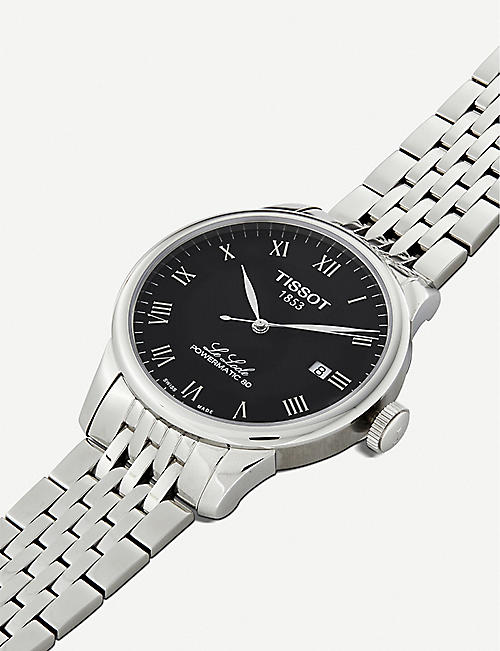 TISSOT T0064071105300 Le Locle Powermatic 80 stainless steel watch