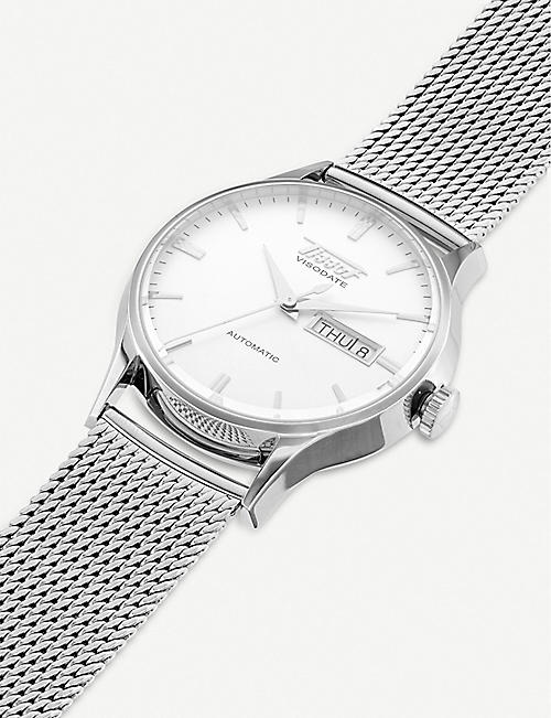 TISSOT T019.430.11.031.00 Heritage Visodate stainless steel watch