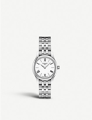TISSOT: T063.009.11.018.00 Tradition stainless steel quartz watch
