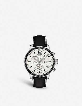 TISSOT: T0954171603700 Quickster chronograph watch