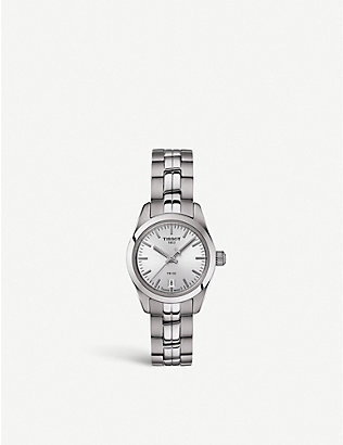 TISSOT: T1010101103100 stainless steel watch