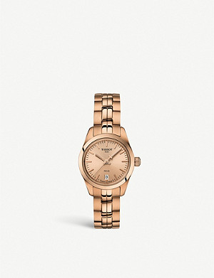 TISSOT T1010103345100 rose-gold PVD watch