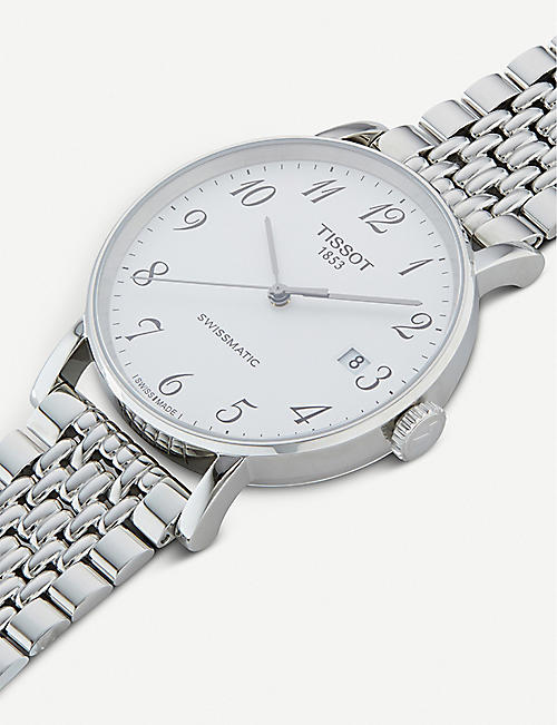 TISSOT T109.407.11.032.00 Everytime Swissmatic stainless steel watch