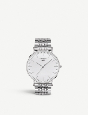 TISSOT Everytime stainless steel watch