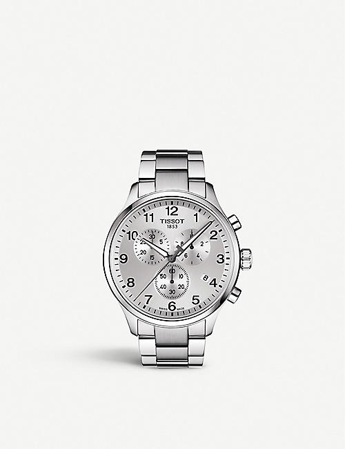 TISSOT: T1166171103700 Chrono XL Classic stainless steel watch