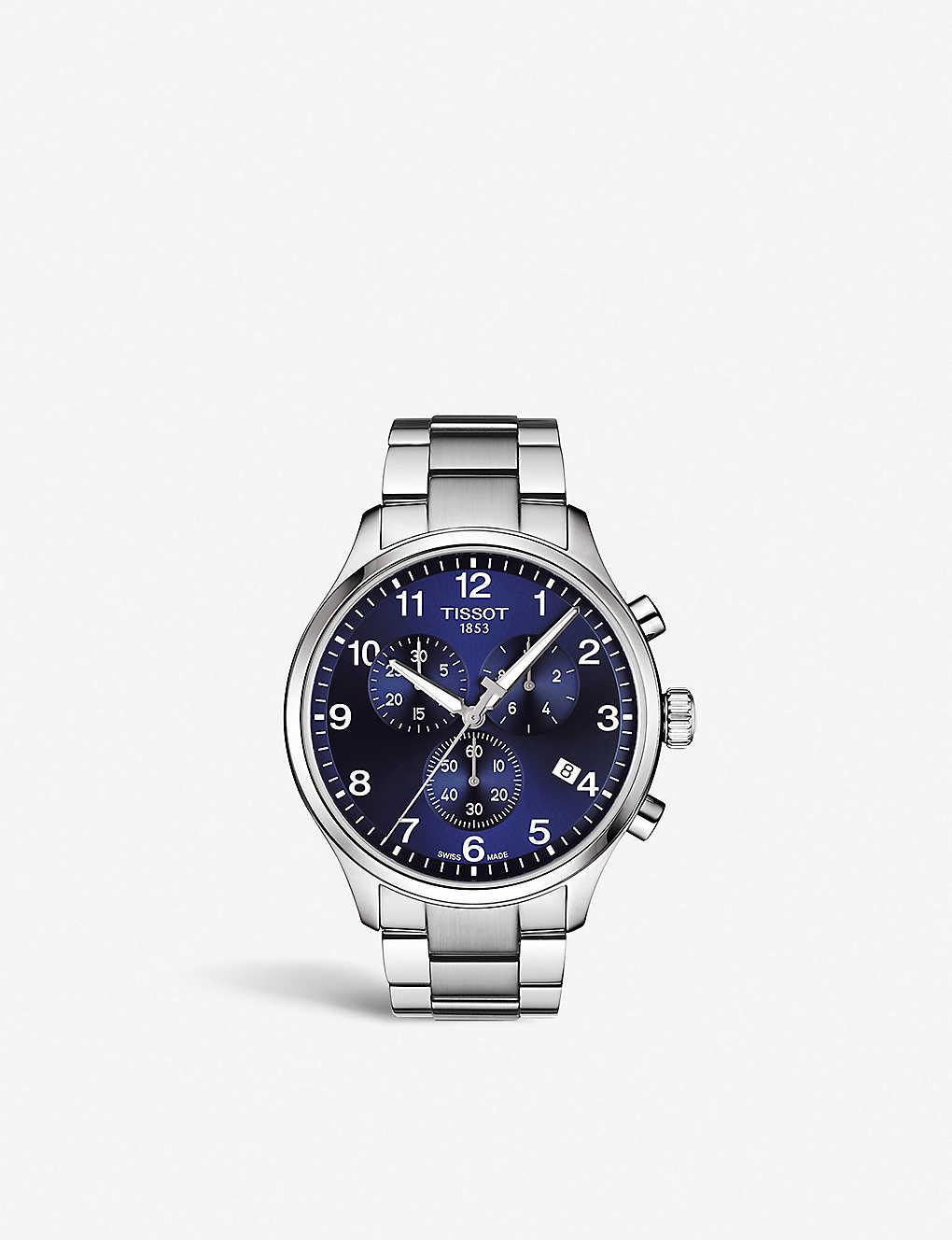 d7aeb36fa50 TISSOT - Chrono XL Classic stainless steel watch | Selfridges.com