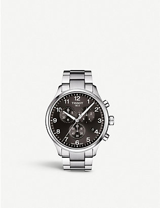 TISSOT: T1166171105701 Chrono XL Classic stainless steel watch