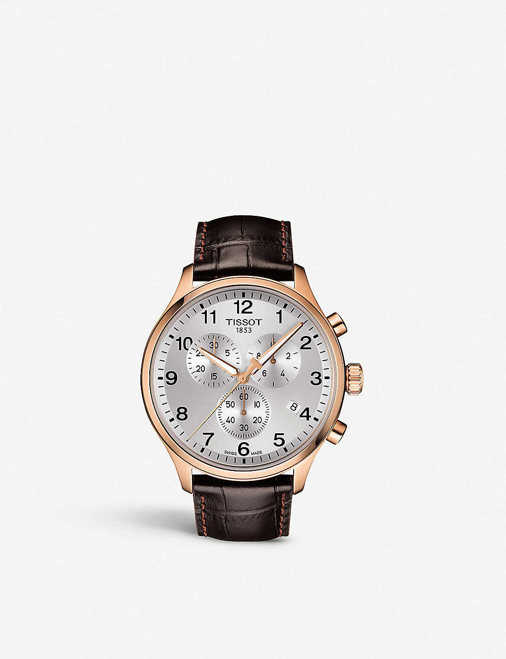 b906fef3cd1 TISSOT - T1166173603700 Chrono XL Classic rose gold-coated stainless ...