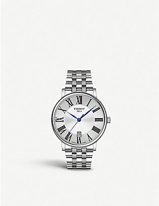 TISSOT: T1224101103300 Carson stainless steel watch