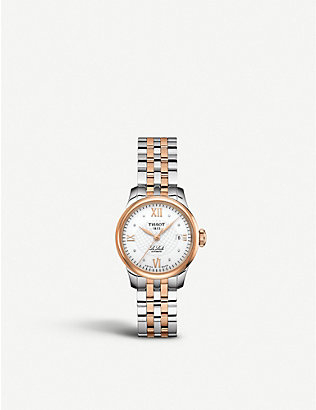 TISSOT: T41.1.183.16 Le Locle Diamond bi-colour watch