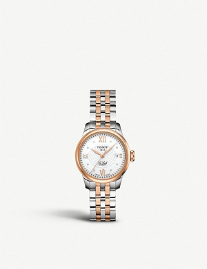 TISSOT T41.1.183.16 Le Locle Diamond bi-colour watch