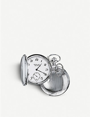 TISSOT: T83.6.553.13 Savonnette stainless steel pocket watch