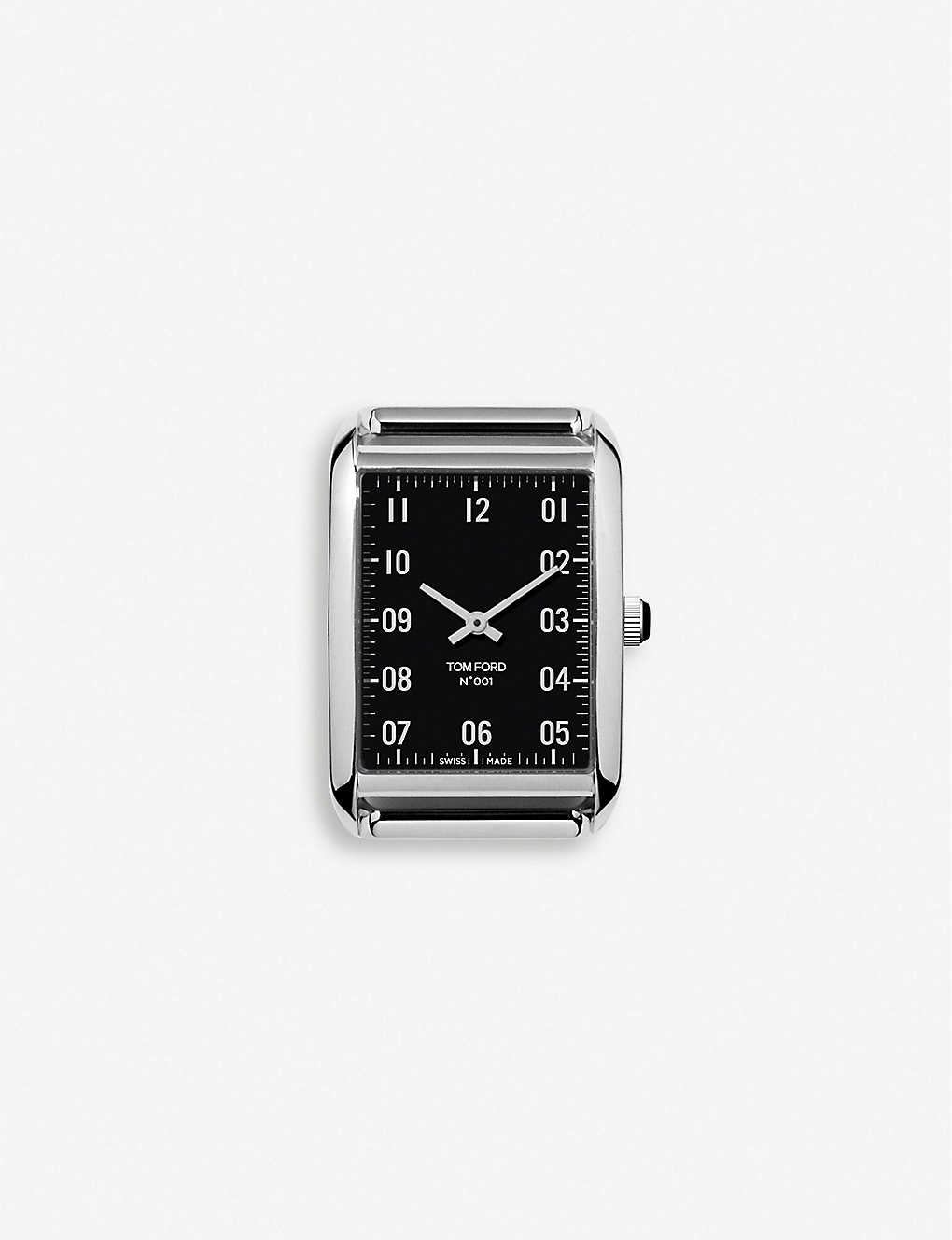 TOM FORD: TFT001003 001 stainless-steel watch
