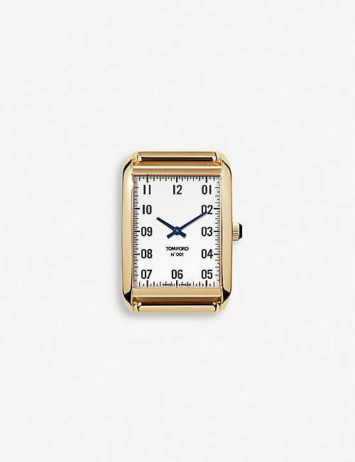 TOM FORD: TFT00100707 001 18ct yellow-gold watch