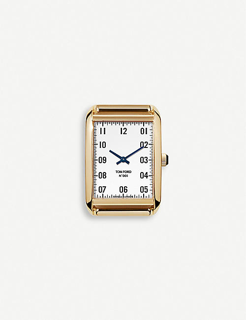 TOM FORD: TFT00100808 001 18ct yellow-gold watch