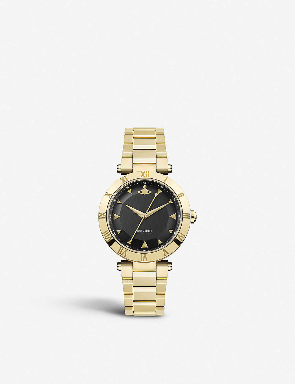 f85cd9766b5d VIVIENNE WESTWOOD - VV206BKGD Montagu gold-plated stainless steel ...