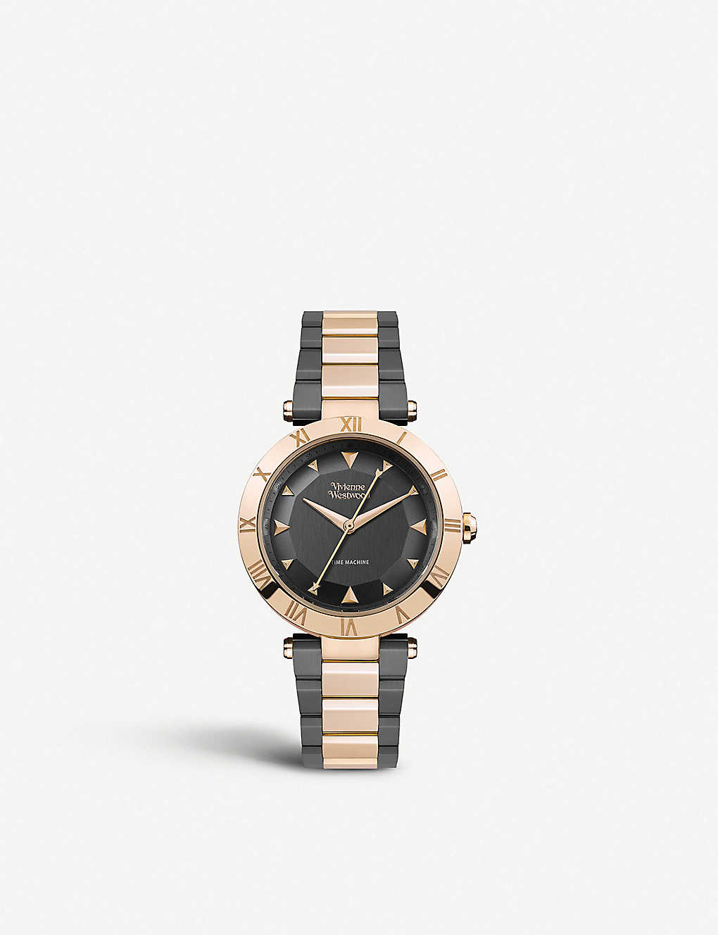 2df7f430cf6f VIVIENNE WESTWOOD VV206RSGN Montagu two-tone rose gold-plated stainless  steel watch