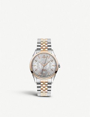 VIVIENNE WESTWOOD VV208RSSL The Wallace two-tone stainless steel watch