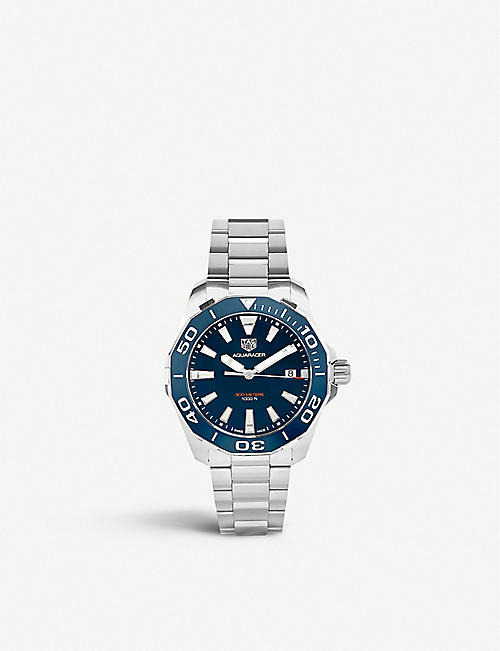 TAG HEUER WAY111C.BA0928 Aquaracer stainless steel watch