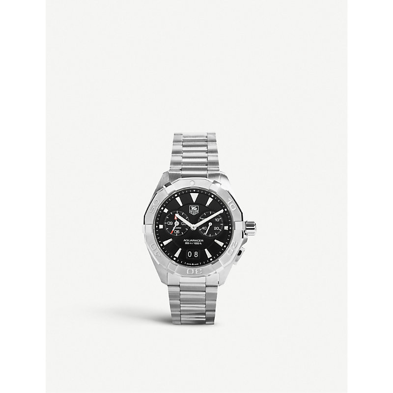 TAG HEUER | Tag Heuer WAY111Z.BA0910 Aquaracer Alarm Stainless Steel Watch, Women'S | Goxip