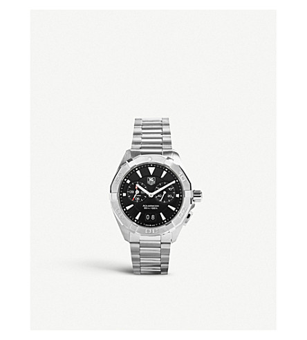 Tag Heuer WAY111Z.BA0910 Aquaracer Alarm stainless steel watch