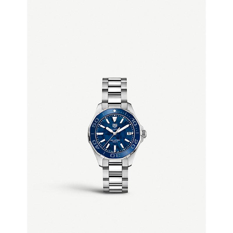 TAG HEUER | WAY131S.BA0748 Aquaracer Stainless Steel Watch | Goxip