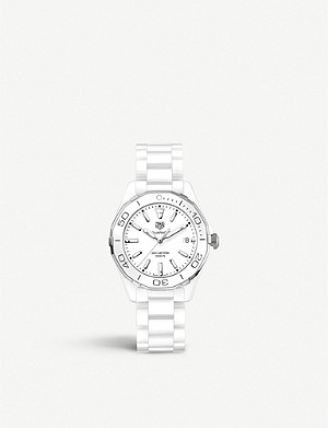 TAG HEUER WAY1391.BH0717 Aquaracer ceramic watch