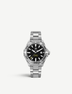 TAG HEUER WAY1391.BH0717 Aquaracer stainless steel watch
