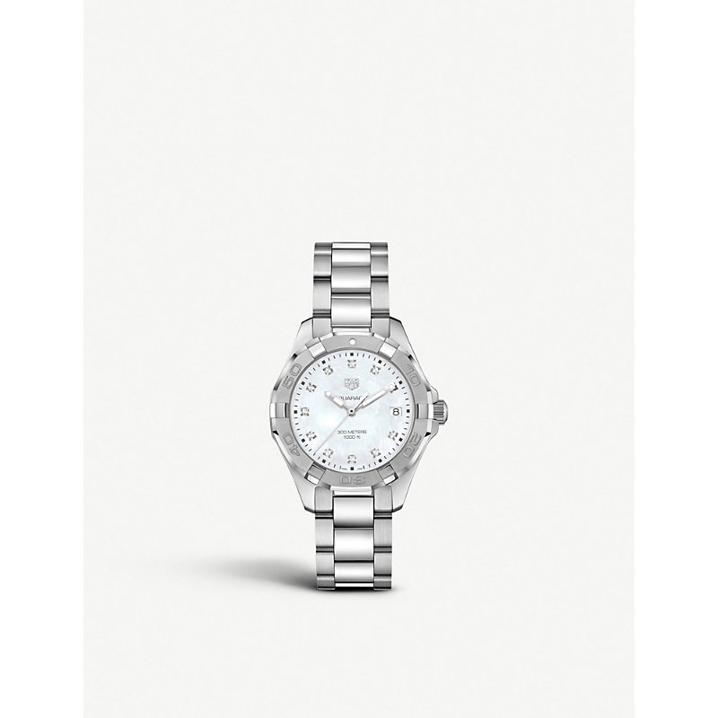 TAG HEUER | WAY1413.BA0920 Aquaracer Stainless Steel Watch | Goxip