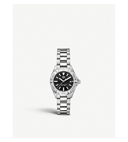 Tag Heuer WBD1410. BA0741 AQUARACER STAINLESS STEEL WATCH