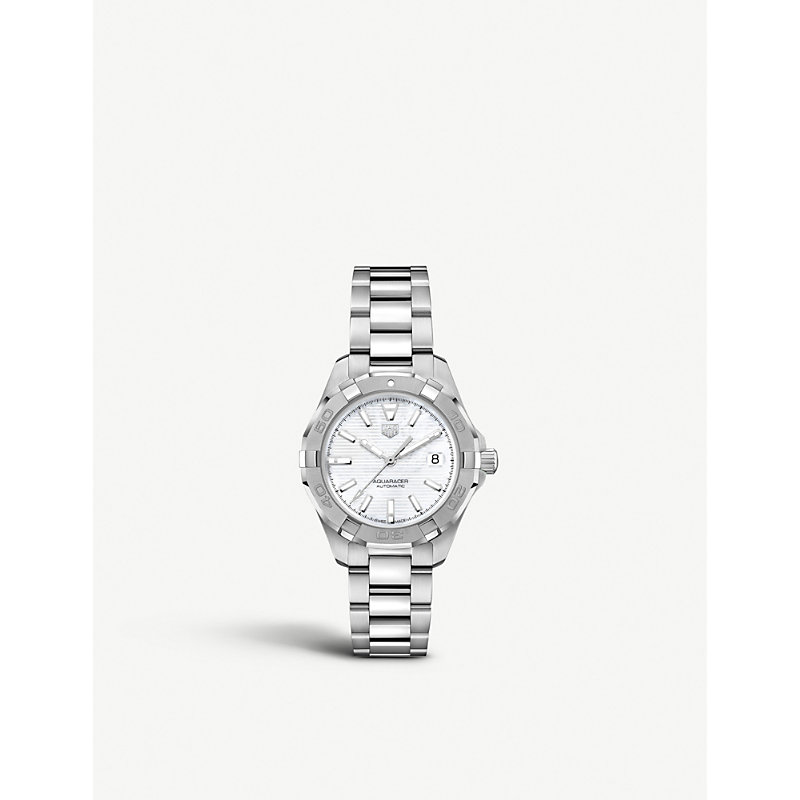 TAG HEUER | WBD2311BA0740 Aquaracer Stainless Steel Watch | Goxip