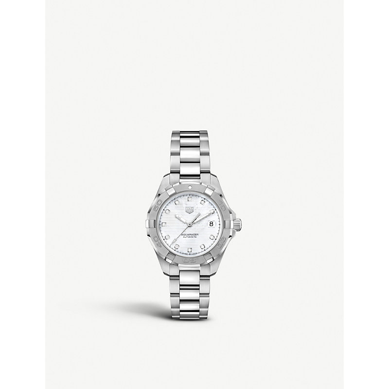 TAG HEUER | WBD2313BA0740 Aquaracer Stainless Steel Watch | Goxip