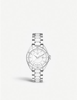 TAG HEUER: WBJ141AD.BA0974 Formula 1 stainless steel and diamond watch