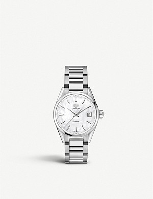 TAG HEUER WBK2311.BA0652 Carrera stainless-steel watch