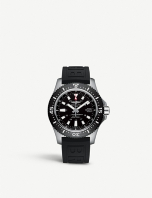 Breitling Y1739310|BF45 Superocean 44 Special black steel watch