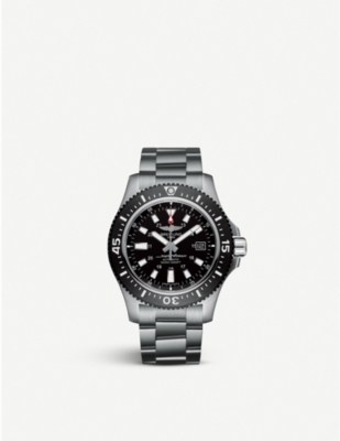 Breitling Y1739310|BF45|162A SUPEROCEAN 44 SPECIAL STAINLESS STEEL WATCH