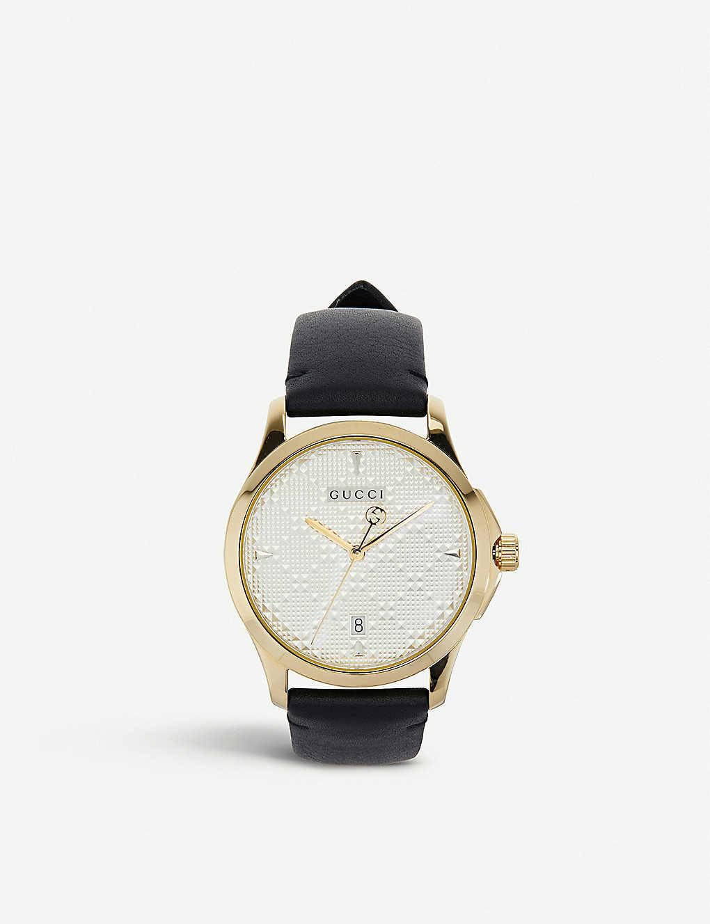7a7fbdb9e2c GUCCI - YA1264027 G-Timeless gold-toned watch