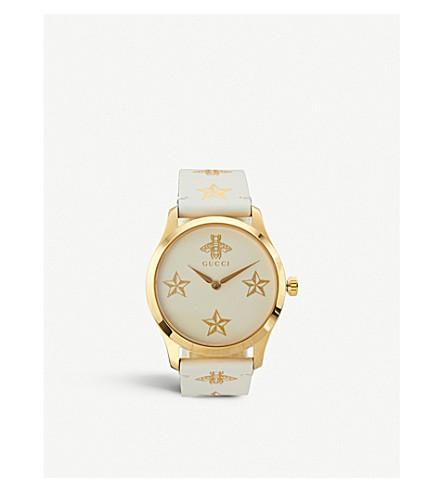 7d8ab7386c3 GUCCI - YA1264096 G-Timeless yellow-gold PVD watch