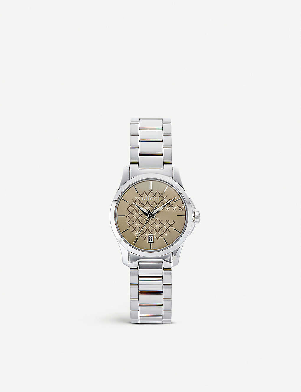 a971016db31 GUCCI - YA126526 G-Timeless stainless steel watch
