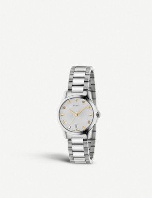 731f1180753 GUCCI - YA126572 G-Timeless stainless steel watch