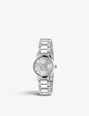 GUCCI YA1264595 G-Timeless stainless steel watch