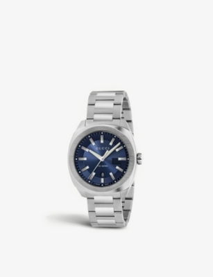 GUCCI YA142303 Cushion stainless steel watch
