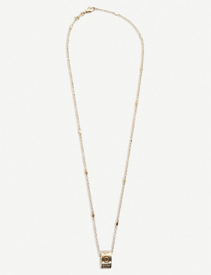 GUCCI Icon blossom 18ct yellow gold necklace