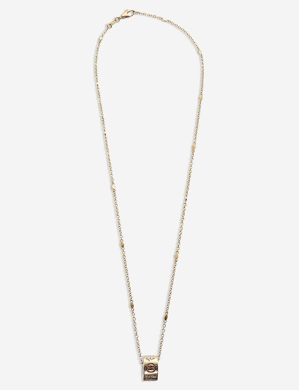 0233e0ec5 GUCCI - Icon blossom 18ct yellow gold necklace   Selfridges.com