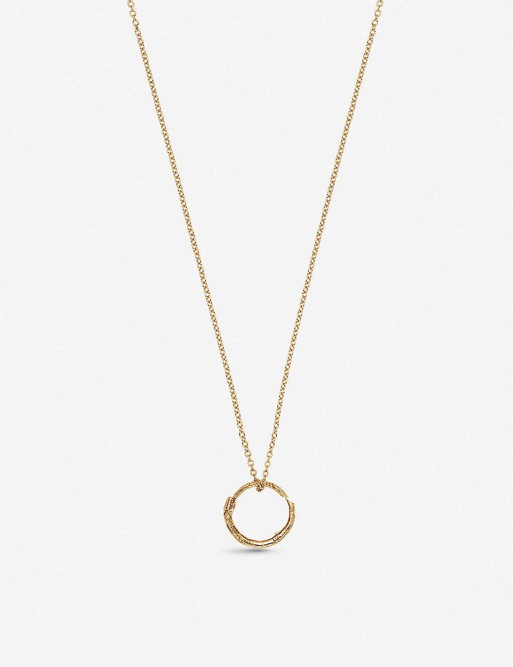 310339a1d88 GUCCI - Le Marché des Merveilles 18ct yellow-gold necklace ...