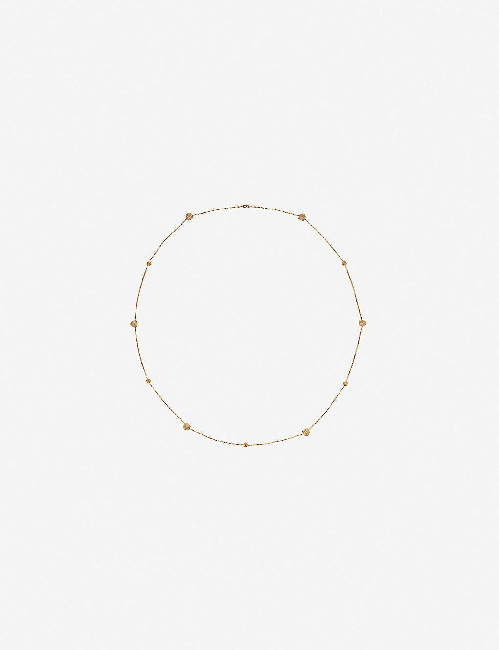 GUCCI: Le Marché des Merveilles 18ct yellow-gold and X necklace