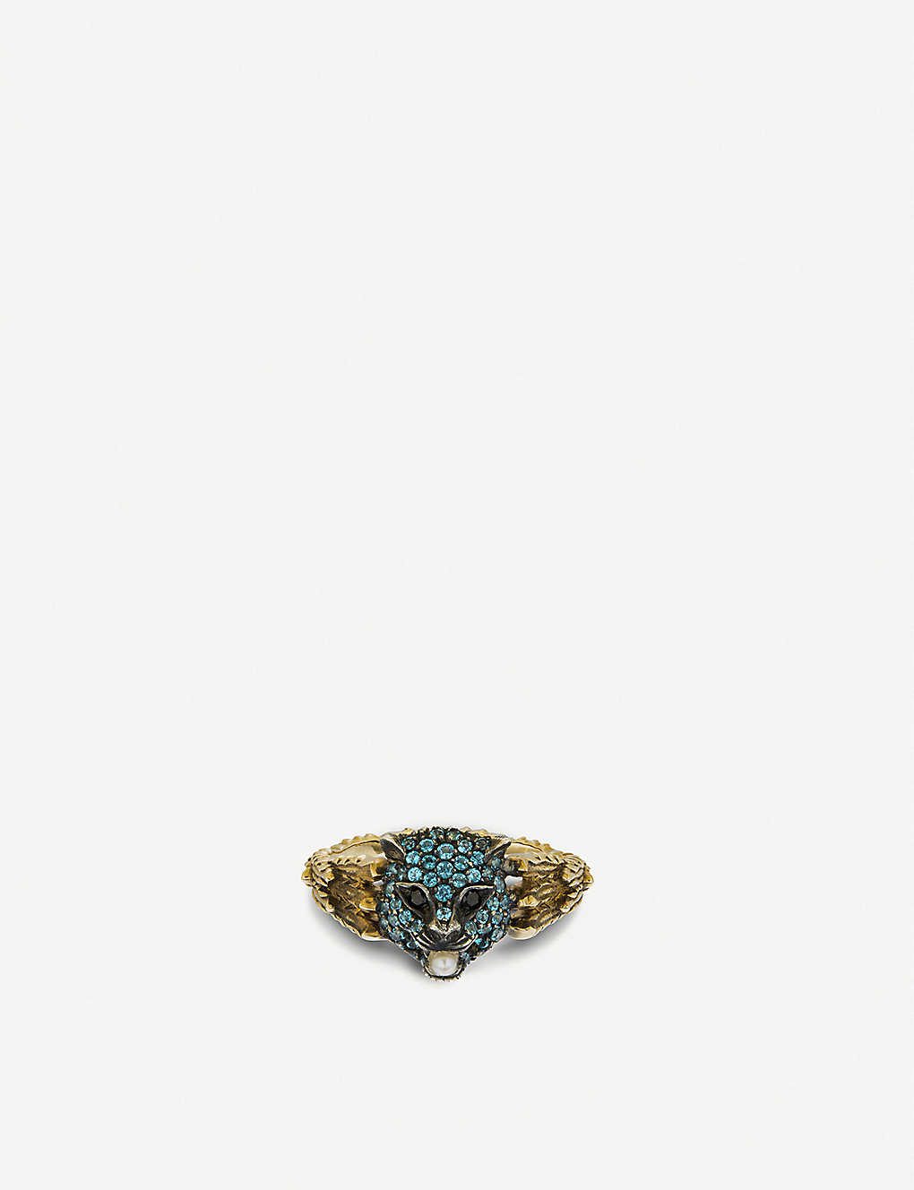 e838d5f8b GUCCI - Le Marché des Merveilles ring 18ct yellow-gold ring ...