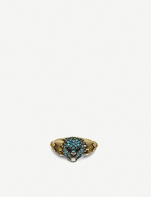 GUCCI Le Marché des Merveilles ring 18ct yellow-gold ring