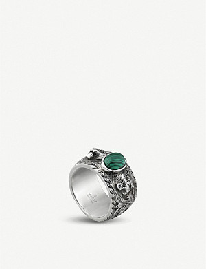 GUCCI Garden sterling-silver ring