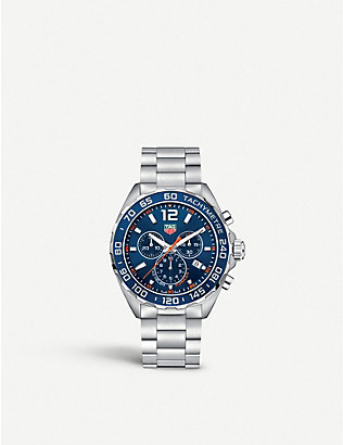 TAG HEUER: caz1014ba0842 Formula 1 stainless steel watch